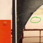 Collage Barbara vor der Freiheitsstatue