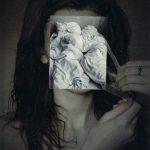 Collage Die Maske
