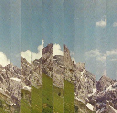 Collage Faltengebirge
