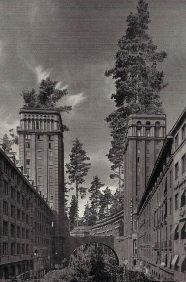 Collage Frankfurter Tor