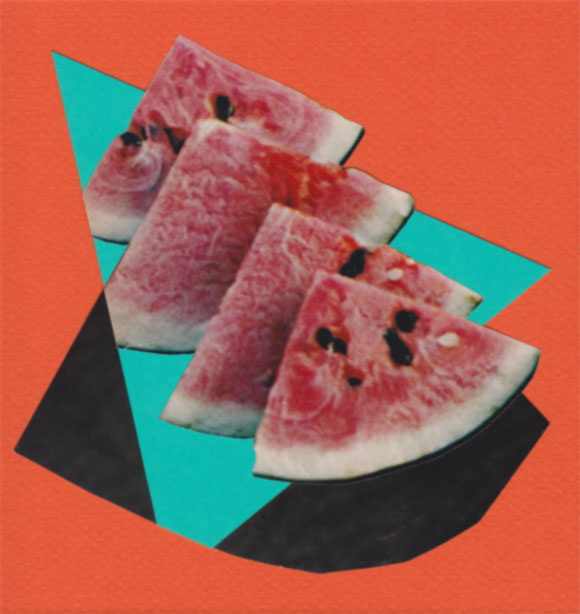Collage Melone