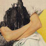 Collage Mit verschränkten Armen