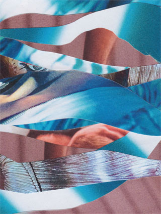 Collage untitled wave